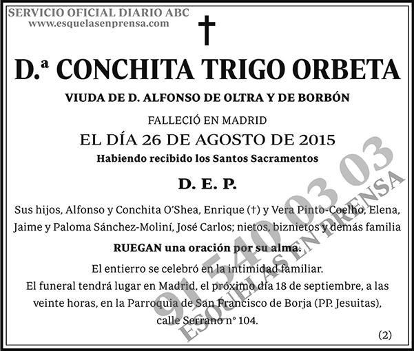 Conchita Trigo Orbeta